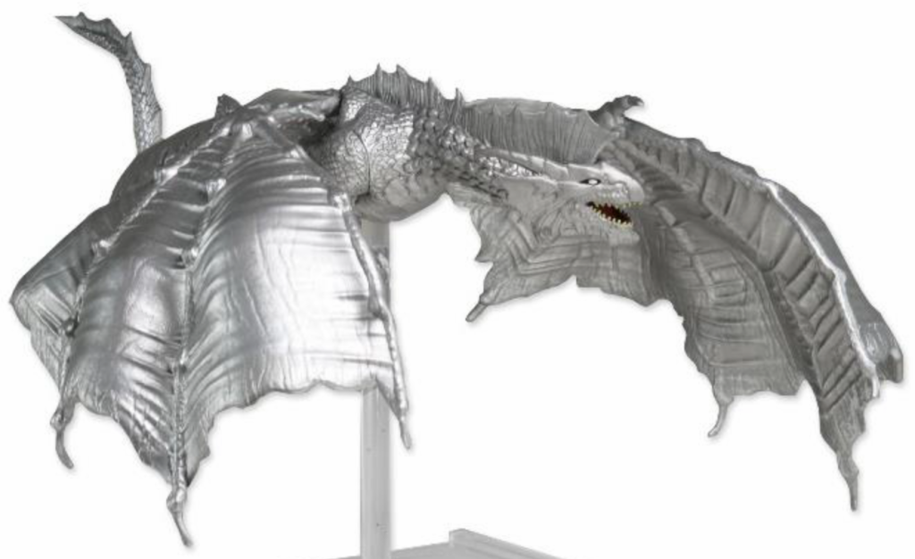 Huge Silver Dragon Premium Figure